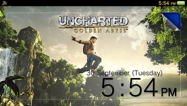 PS Vita Theme Unchartered