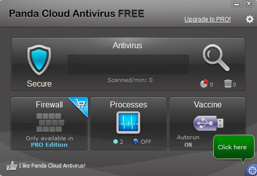Panda Cloud Free Anti-Virus