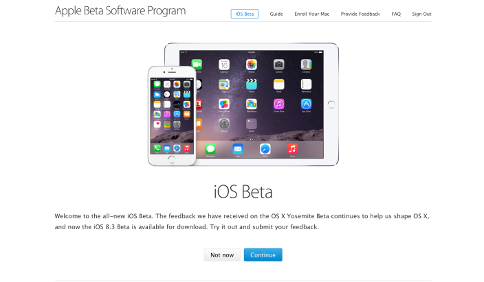 iOS beta versions are now available for everyone