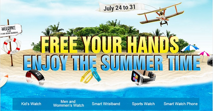 Grab the latest tech Gears from Gearbest's Summer Watch Sale!