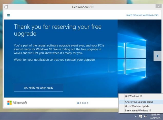 How to Upgrade to Windows 10 Now and skip the Queue