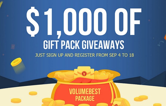 $1,000 gift pack giveaway promo