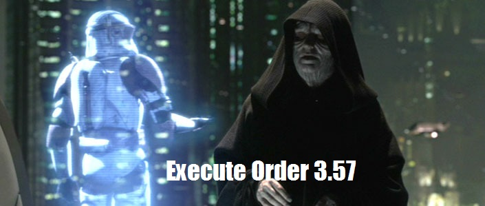 Execute Order 3.57