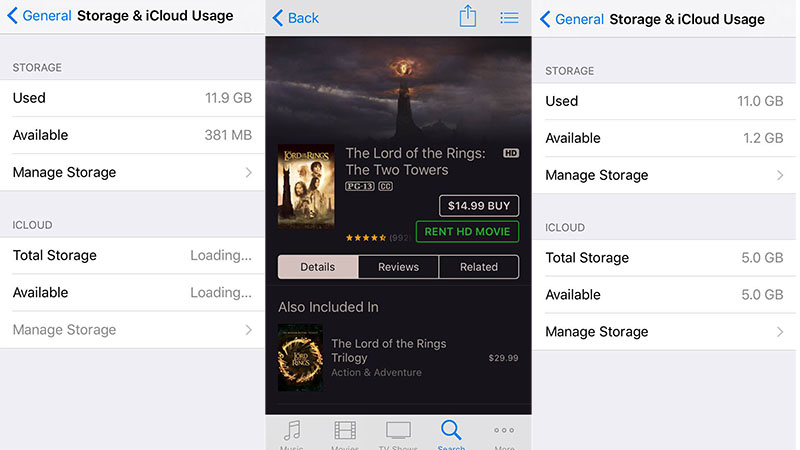 How to free up space on your iPhone without deleting anything
