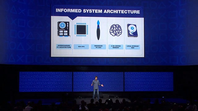 PS4 was designed with the game developers in mind