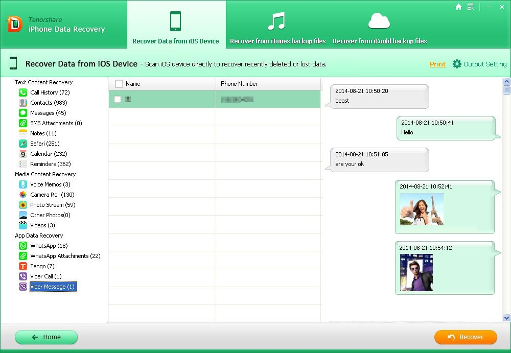 How to Recover Lost iPhone Viber Messages